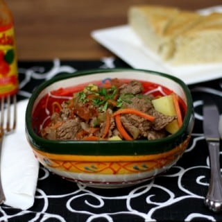 Panamanian Beef stew   ethnicspoon.com
