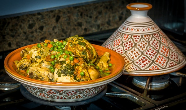 Moroccan Chicken Tagine | Ethnicspoon.com