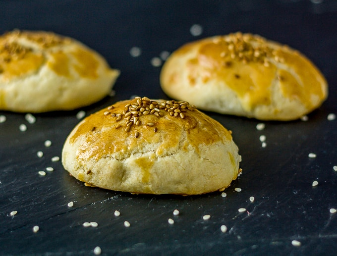 Turkish pogaca cheese turnover | Ethnicspoon.com