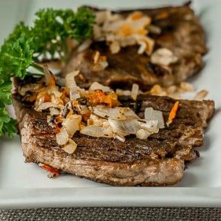 vaca frita cuban flank steak