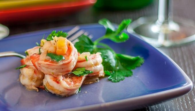 Spanish Style Shrimp Tapas
