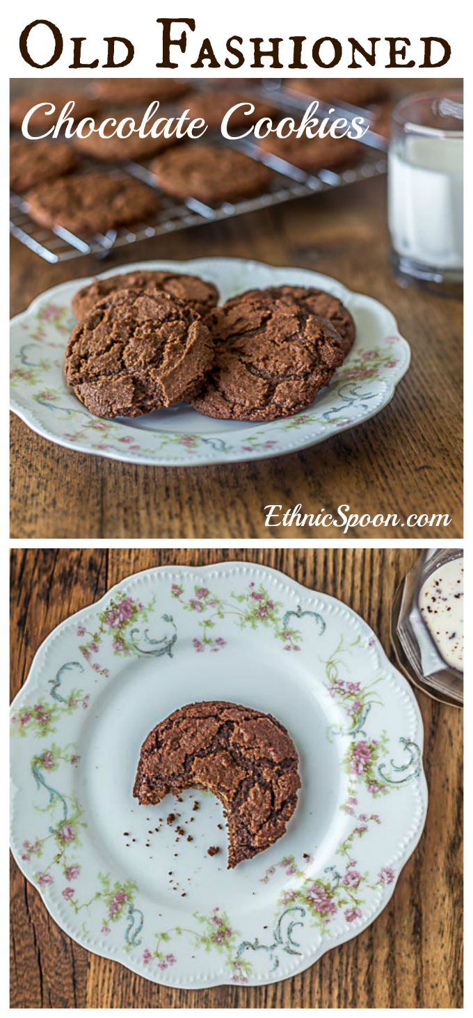 Aunt Lou's Chocolate Drop Cookies - Analida's Ethnic Spoon