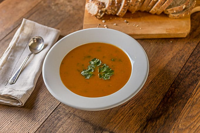 apple root vegetable soup herbed goat cheese tartines celery root ...
