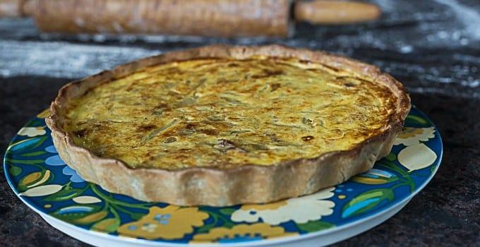 Sweet Onion Quiche: Zwiebelkuchen