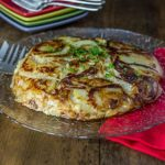 Frico is a rusti Italian dish made with potatoes, onions and Parmesan cheese. | ethnicspoon.com