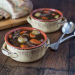 Irish Guinness stew made with beef or lamb. | ethnicspoon.com