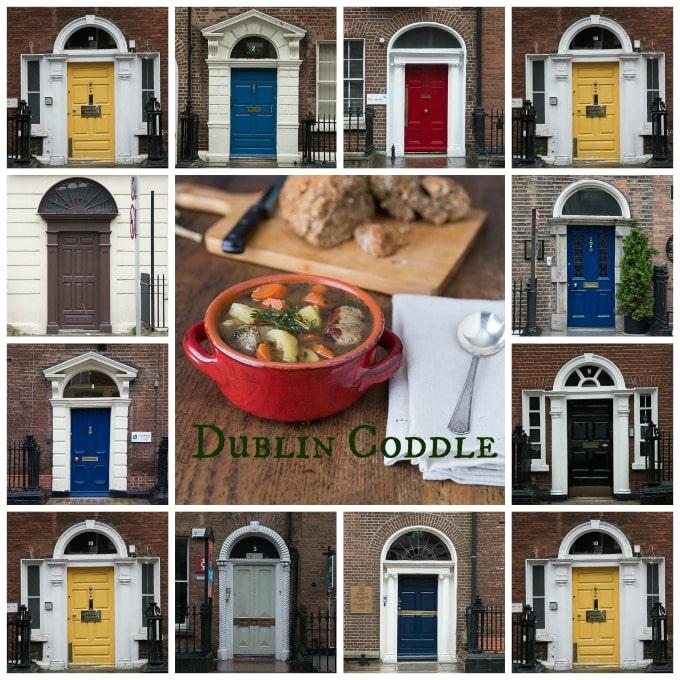 Dublin coddle and the doors of Dublin | ethnicspoon.com