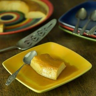 No Bake easy stove-top flan recipe or Latin American custard. | ethnicspoon.com