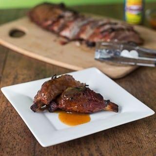 Mango habanero rib sauce hot off the grill | ethnicspoon.com
