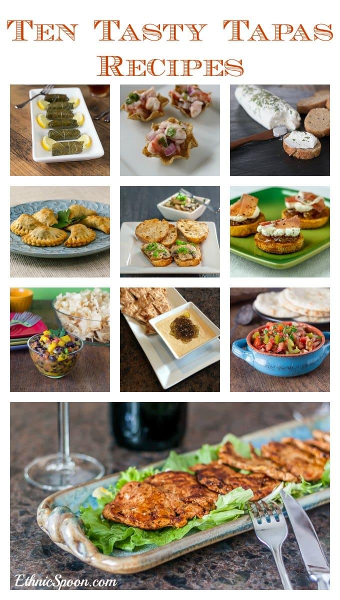 Ten tasty tapas recipes for your next party. | ethnicspoon.com