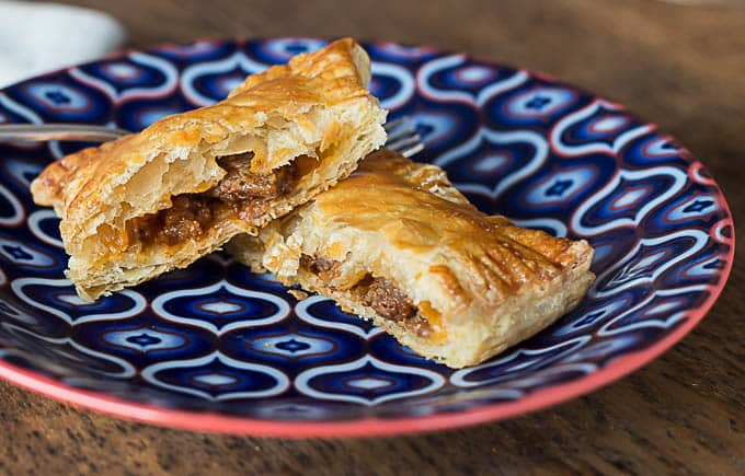 a very easy recipe with puff pastry for turkish talas. Black Bedroom Furniture Sets. Home Design Ideas