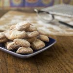 Spanish shortbread cookies with lime: Polvorones de Limón | ethnicspoon.com