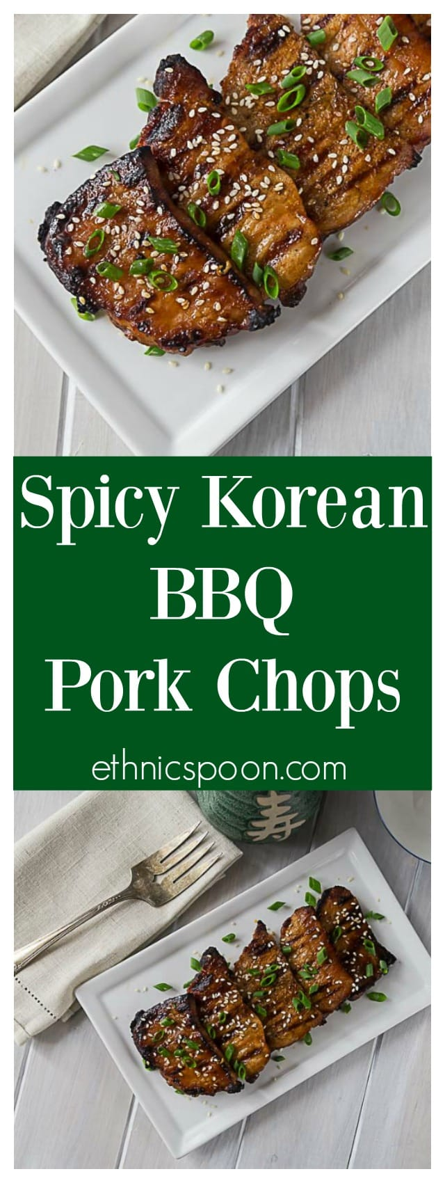 Tender And Delicious Grilled Boneless Pork Chops In A Spicy Korean Bbq Sauce A Quick