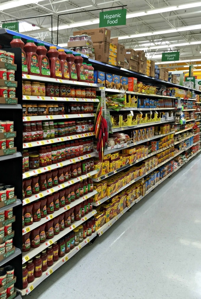 The Hipanic aisle is where to buy La Morena® Chipotle Peppers in Adobo and Knorr® Chicken Flavor Bouillon Granulated Bouillon | ethnicspoon.com
