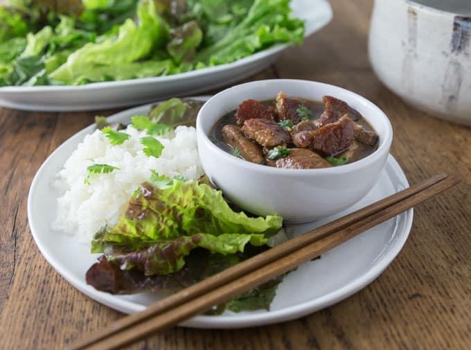 Vietnamese Coconut Braised Pork - Thįt Kho Tàu