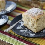 You are going to love making this easy kid friendly from scratch cake recipe that has tropical Caribbean. Jamaican Toto is a popular Caribbean coconut cake that is a simple and delicious spice cake that dates back to colonial times. | ethnicspoon.com