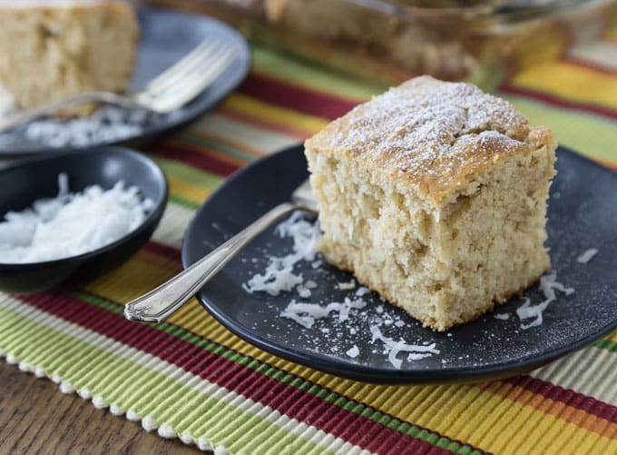 You are going to love making this easy kid friendly from scratch cake recipe that has tropical Caribbean. Jamaican Toto is a popular Caribbean coconut cake that is a simple and delicious spice cake that dates back to colonial times.   ethnicspoon.com