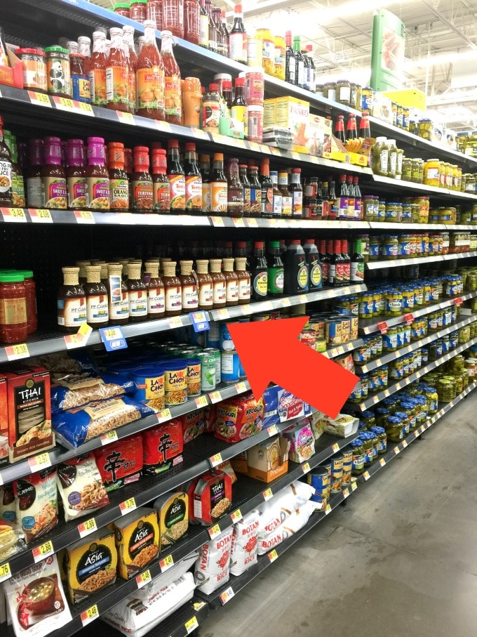 Here is where you buy the new P.F. Chang's® Home Menu Sauces in Walmart.